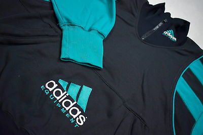 Adidas Equipment Pullover Jacke Sweater Sweat-Shirt Windbreaker 90s Vintage 6 M
