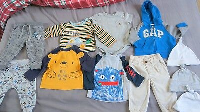 Baby boy bundle 6-12 months and 6-9 months