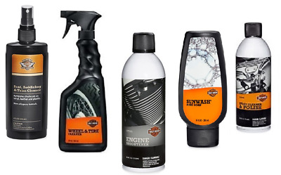 Harley-Davidson Essential Cleaning Kit - Soap Spray Detail - Ideal Gift Set