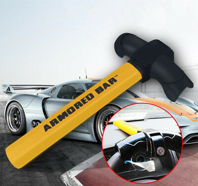 T-shaped Car Rotating Wheel Steering Security Anti-theft Look Head Handlebar