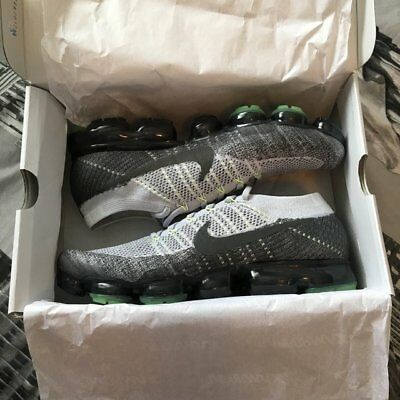 a71e84a895c73 Nike Air VaporMax Flyknit - Pure Platinum Anthracite-White-Dark Grey - UK