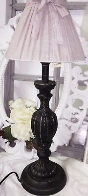 Clayre&eef Table Lamp Searchlight Lamp Shabby Vintage Country House Brown