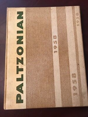 New Paltz College Yearbook 1958, Paltzonian
