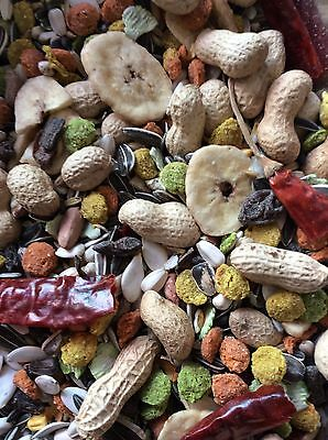 Parrot Tropical Mix Nuts Seed Dried Fruits 1.Kilo