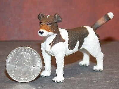 Dollhouse Miniature Dog Jack Russell Animal Pet 1:12 scale Dollys Gallery G64