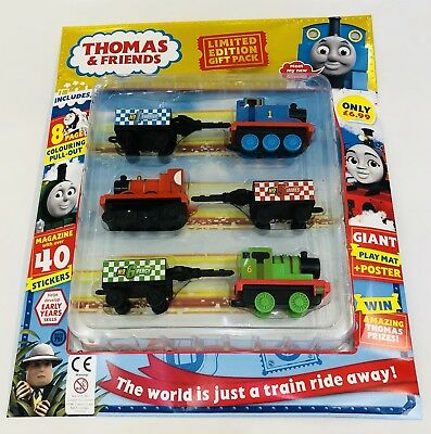 Thomas & Friends Magazine #751 - Limited Edition Gift Pack! (New)