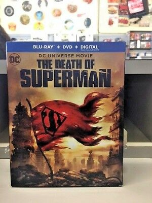 The Death of Superman (Blu-ray/DVD/Digital) NEW, free shipping