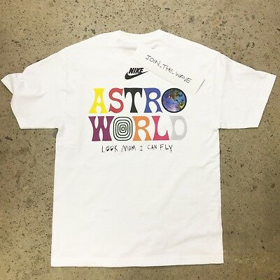 8b6962fcf1e TRAVIS SCOTT ASTROWORLD T-SHIRT tour rodeo supreme bape ftp concert merch  S-XXL