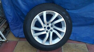 "Genuine Land Rover Discovery 5 20"" 5011 Alloy Wheels & Pirelli 255 55 20 Tyres"