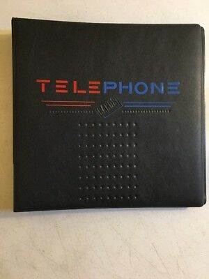 Telephone Card Ultra Pro Binder With 5 Empty Storage Pages