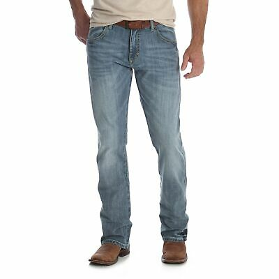 aad0da33 WRANGLER MEN'S GREELEY Retro Slim Fit Boot Cut Jeans 77MWZGL ...