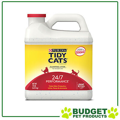 Purina Tidy Cats Clumping Clay Litter 24/7 Perfomance For Cats 6.35kg