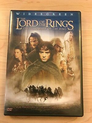 The Lord of the Rings: The Fellowship of the Ring, Widescreen Edition DVD