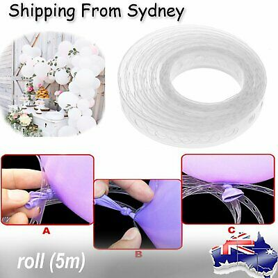 5m Balloon Decorating String DIY Balloon Arch Strip Tape Cake Gift Table Decor