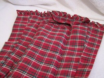 PLAID TIDINGS LINER ONLY for  TALL KEY BASKET used