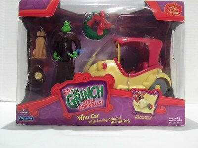 How The Grinch Stole Christmas Movie (Who Car Toy) Jim Carey- 2000 Rare