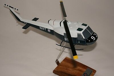 Ran Iroquois Helicopter  - Large 1:48 Scale Handcrafted Desk Model