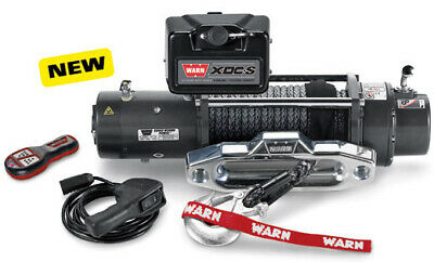 Warn XDC-s Winch (Synthetic Rope)