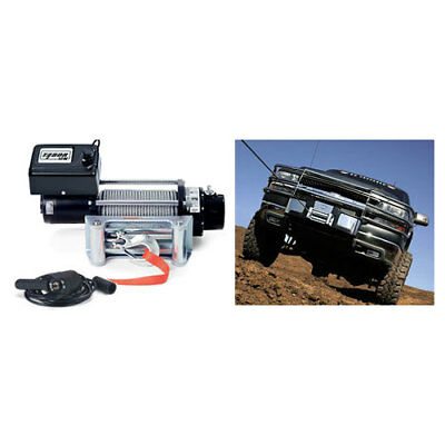Warn Tabor 12k 12,000lb(5443kg) 12v 4x4 Winch Steel Cable