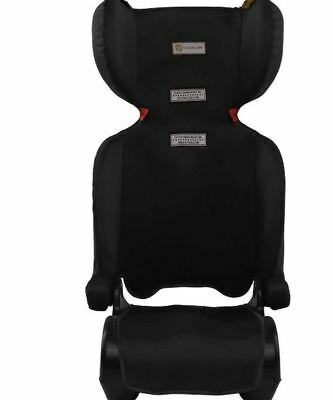 InfaSecure Traveller Booster Seat Lightweight Carry Handle Arm Rests Black
