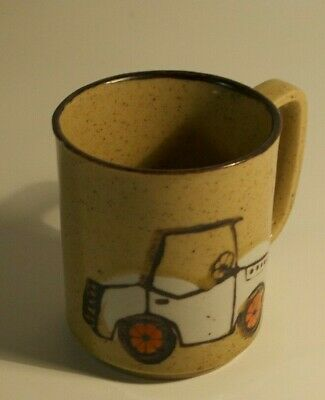 Vintage Antique Car Automobile Auto Coffee Cup Mug Marked