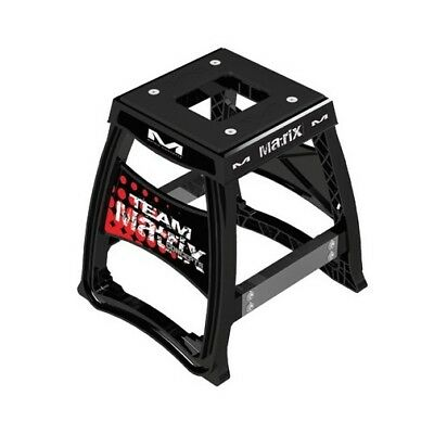 Matrix Mx Gear M64 Elite Black Motocross Dirt Bike Lightweight Moto Race Stand
