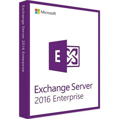 Microsoft Exchange Server 2016 Enterprise - Vollversion - Download