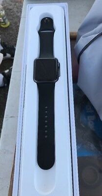 Apple Watch 1st Generation 7000 Series Gray/Black Sport FOR PARTS ONLY iCloud