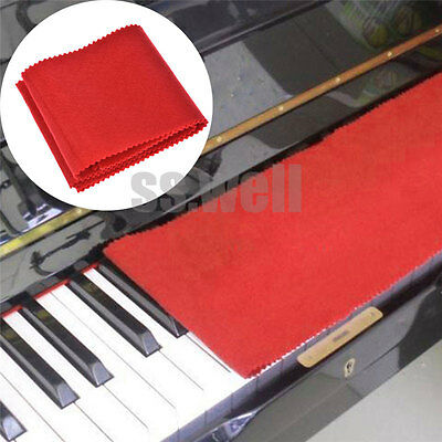 Velet Piano Key Cover Keyboard Flannelette Dust Cover Cover Cloth 124cm