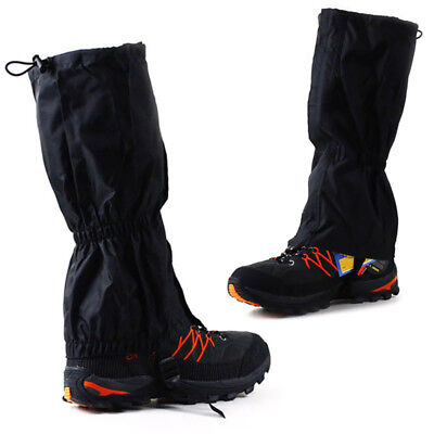 2pcs Waterproof Outdoor Hiking Walking Climbing Hunting Rain Snow Legging Gaiter