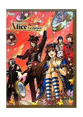Wonderful Wonder World Book - Alice Archives redcover * Artbook mit CD