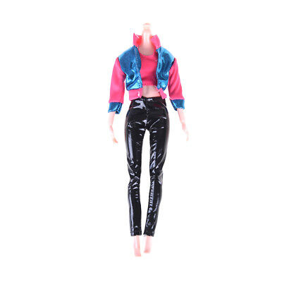 1Set Outfit Casual Daily Travel Pant Clothes For Barbie Doll Accessories EB