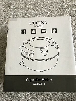 BNIB New Giani Cucina Mini Cup Cake Maker GCYD311.Makes Up To 7 Cakes At A Time.