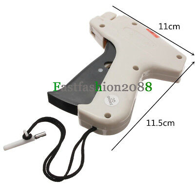 Label Tagging +1000 Barbs+5 Steel Needle Tag Gun Machine Clothes Garment Price