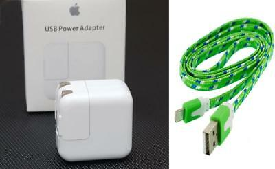 Original USB Wall Charger Power Adapter for iPad 4 Pro Air 2 iPad mini 2 3 Cable