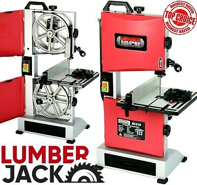 "Quality 9"" Bench Top Woodworking Bandsaw 240v with Cast Table Wood Cutting Blade"
