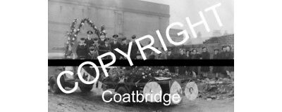 Coatbridge Photo 1951 East Canal Street Behind Baths Easter Queen Event Scotland