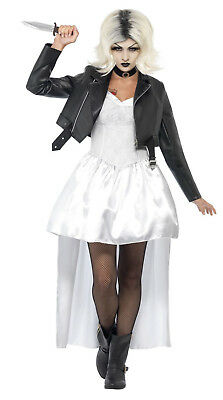 Halloween Bride.Sexy Adult Halloween Bride Of Chucky Dressing Up Costume Ladies Outfit Licensed