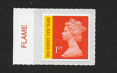 1 GB Stamps 2016 1st Recorded Delivery Signed For Colour Tab Set M16L.  Mint NH.