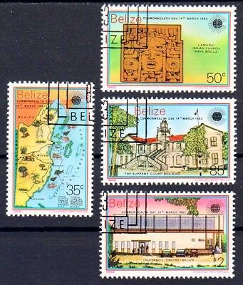 Belize 698-671 , gestempelt / o / Commonwealth-Tag