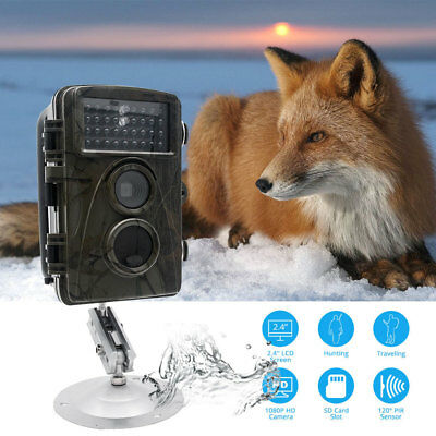 12MP HD H801 Caméra de chasse scoutisme infrarouge trail chasse caméra gsm IR RC