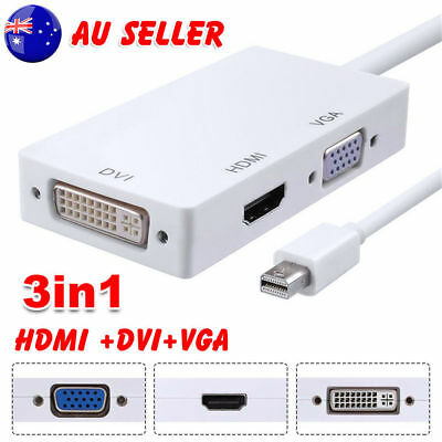Mini Display port to HDMI/DVI/VGA Adapter for Microsoft Surface Pro 1/2/3/4/Mac