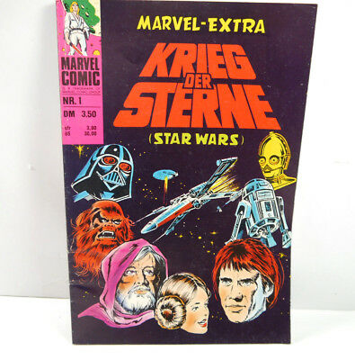 STAR WARS Band 1 MARVEL EXTRA Comic SC WILLIAMS VERLAG (WR9)