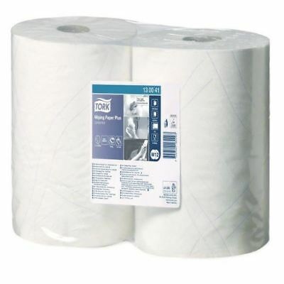 Tork White Wiping Paper Plus 750 Sheets 255m (Pack of 2) 130041 [SCA82286]