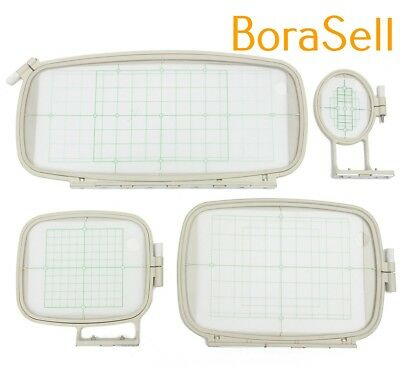 Embroidery Hoop Set (4 IN 1)Sewing Hoop Frame for Brother PE-750D 780D PE-770