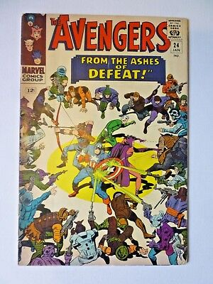 The Avengers 24 1966 Marvel Comics Silver Age Kang