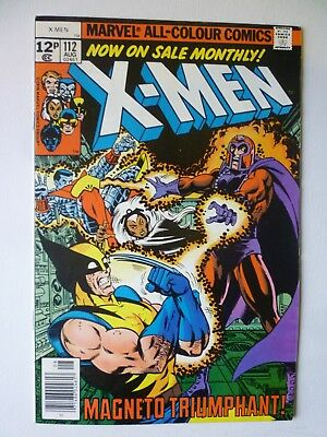 X-Men 112 1978 Marvel Comics Magneto Triumphant