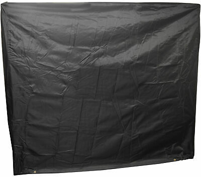Full Size Ping Pong Table Storage Cover Indoor/Outdoor Black Table Tennis Sheet