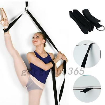 Durable Ballet Stretch Bands Yoga Resistance Band Foot Loop Dance Gym Training