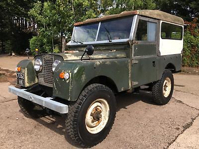 "1958 Land Rover Series 1 88"" 2.25 petrol"